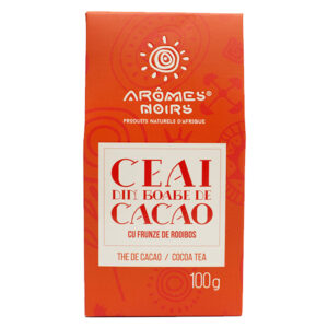 COCOA BEANS AND ROOIBOS LEAFS TEA